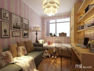 110平中式风格三居儿童房装修效果图