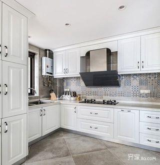 美式风格两居装修厨房布局图