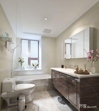 混搭风格样板房卫生间装修效果图