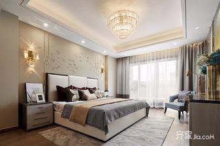 现代奢华复式别墅卧室装修效果图