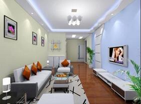 漂亮的墙面漆效果图  爱上色彩美家