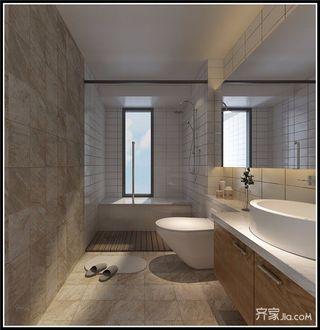 125平新中式风格卫生间装修效果图
