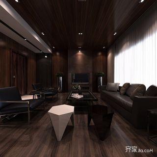 120㎡新古典风格三居装修效果图