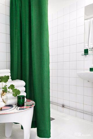 小户型简约风格装修卫生间一角