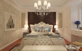 180平欧式风格卧室装修效果图