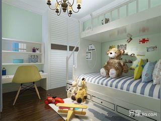 美式风格二居室儿童房装修效果图