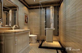 120平米欧式风格卫生间装修效果图