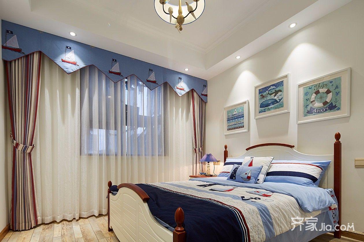 100平米田园风格卧室装修效果图