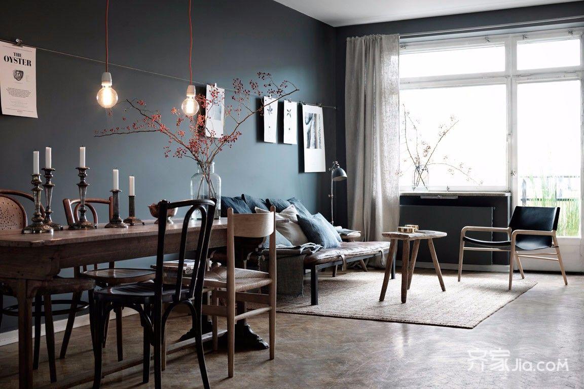 小户型北欧宜家风装修客厅布置图