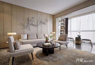 108平现代简约三居装修设计图
