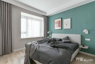 宜家风格二居卧室装修设计效果图