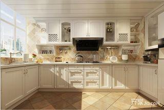 混搭风别墅装修厨房设计效果图