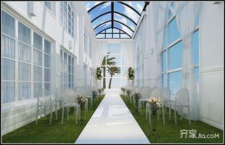 欧式风格婚礼堂装修效果图