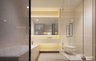 新中式风格装修卫生间设计图