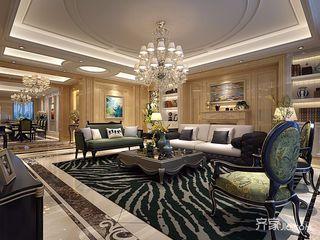 奢华欧式风格四房装修效果图