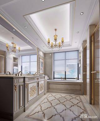 奢华欧式风格四房卫生间装修效果图