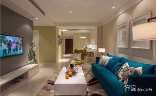 112平现代简约三居装修设计图