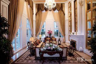 美式豪华别墅装修设计实景图