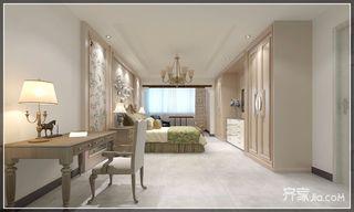 复式简美风格二居装修卧室设计图