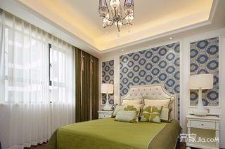 120平简欧风格三居装修卧室搭配图