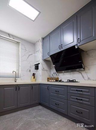 140平简约风格四房装修橱柜效果图