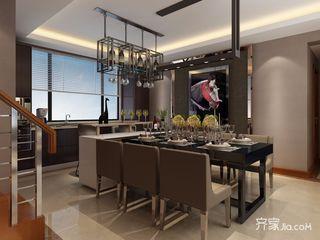 现代风格四房装修餐厅设计效果图