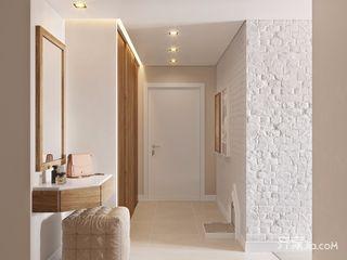 日式北欧风格二居玄关装修效果图