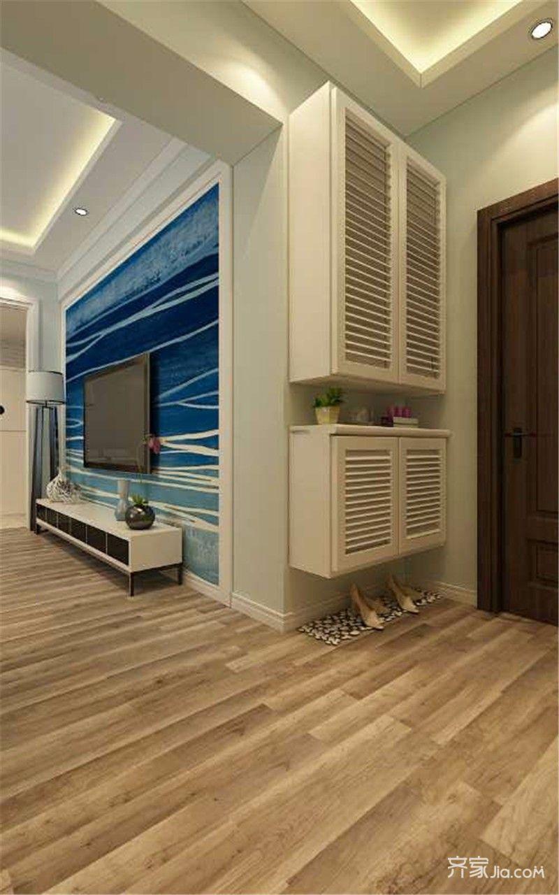 一居室小户型公寓装修玄关设计图