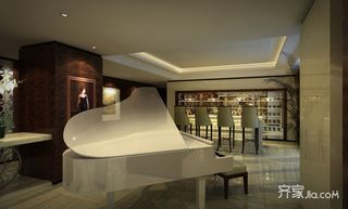 大户型现代风格四房装修钢琴区
