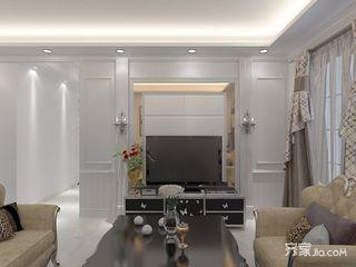 90㎡现代风格三居室装修效果图