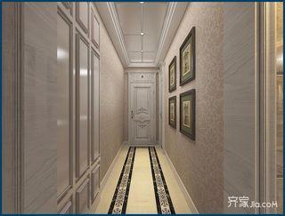 豪华欧式风格四房装修走廊效果图