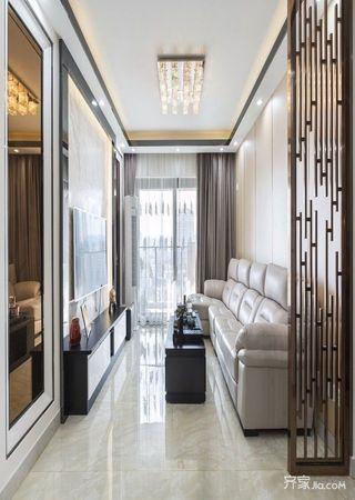 82平米现代风格装修客厅设计图