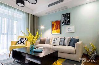 两居室美式风格家 活泼鲜明