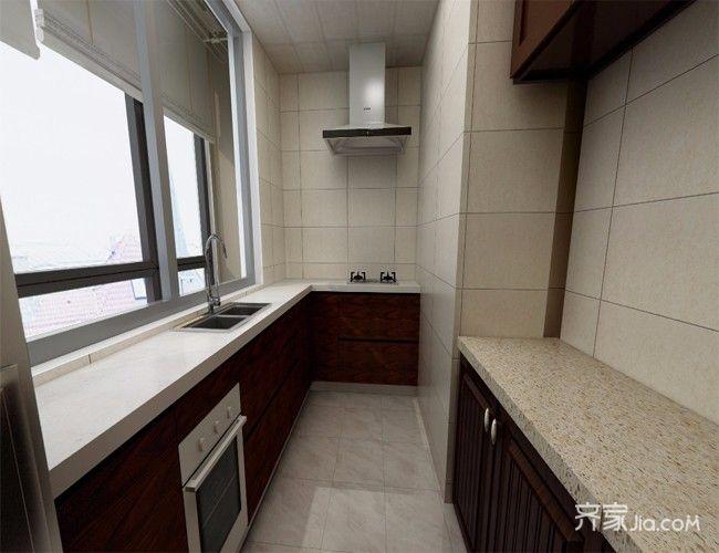 现代简约风格四房厨房装修效果图