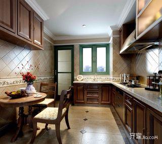 132平米欧式风格厨房装修效果图