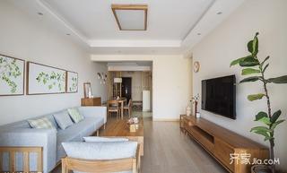 宜家二居室装修设计 亲近自然