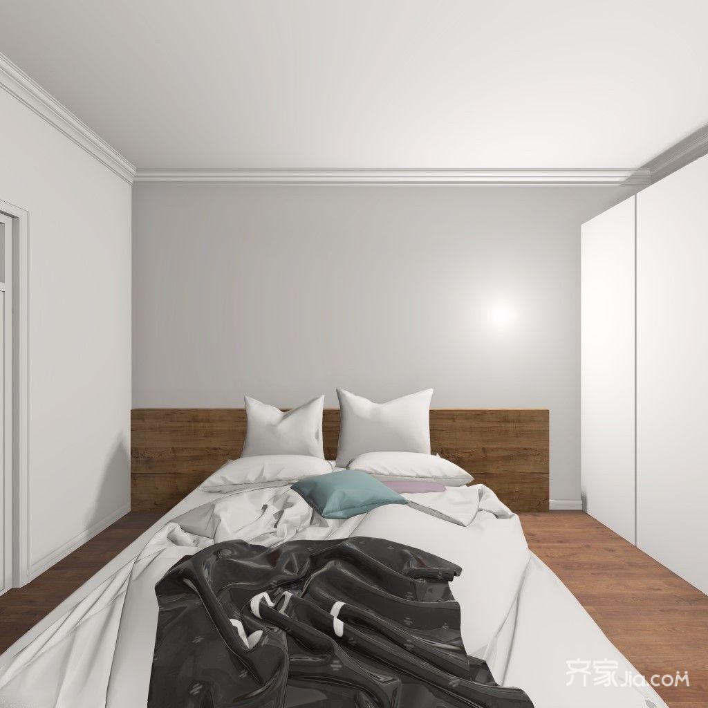 简约二居室装修卧室效果图
