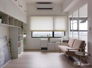 一居室小户型客厅设计图