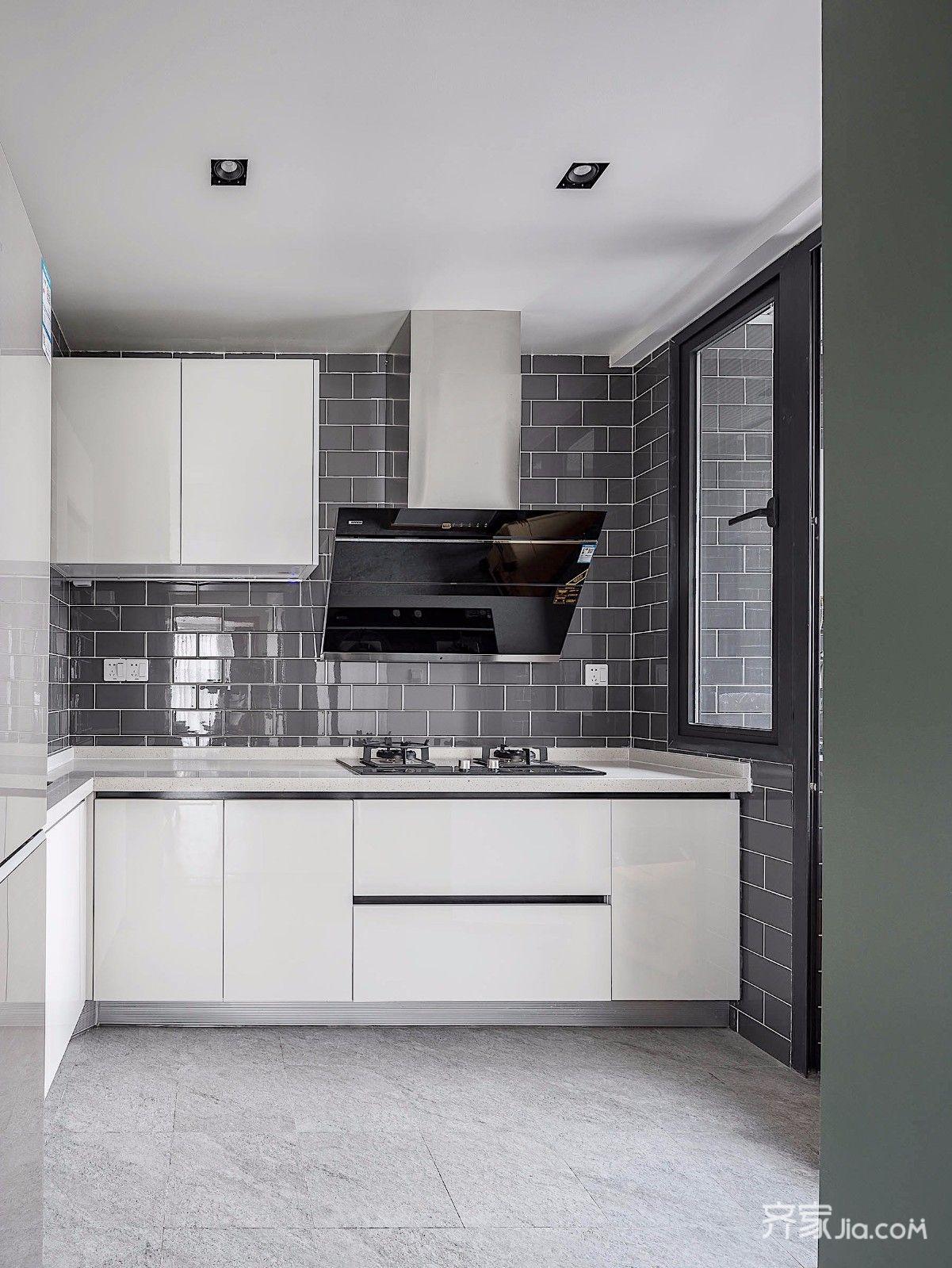 三居室简约装修厨房设计图