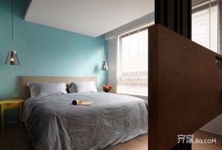 90㎡简约之家卧室设计图