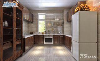 中式别墅设计厨房构造图