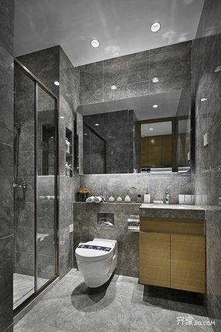 一居室小户型装修卫生间装潢图
