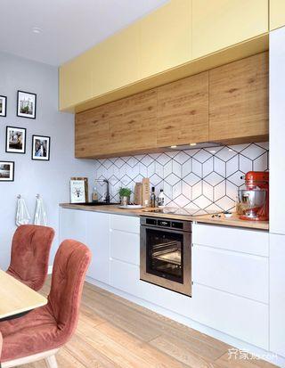 一居室简约小家厨房设计图