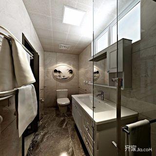 二居室简约风装修效果图