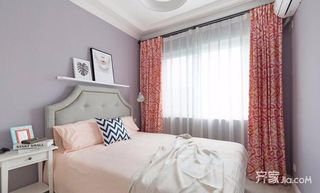 三居室现代简约风格装修窗帘