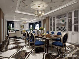 欧式风装修餐厅布置图