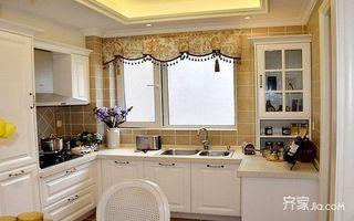 80㎡混搭风格装修效果图厨房构造图