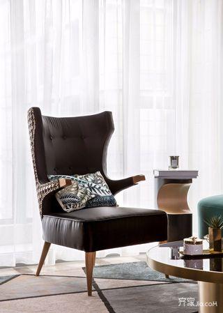 三居室欧式风格家客厅沙发图片