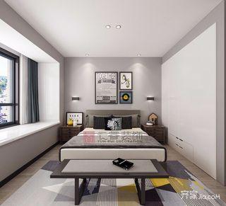130㎡现代简约风格装修卧室效果图
