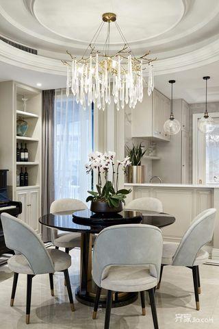 三居室现代简约家餐桌图片